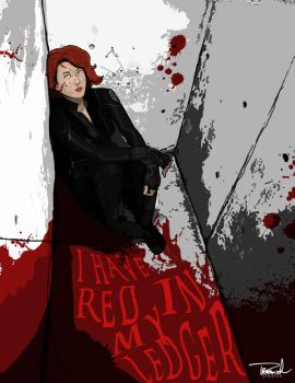 Black Widow-I Have Red in my Ledger by tsbranch