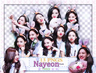 [ PACK RENDER #26 ] PACK RENDER NAYEON - TWICE by Risahhh