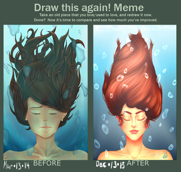 Meme  Before And After #4 by OmegaRedFox