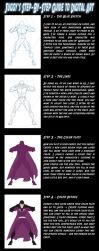 8 step guide to character art by Juggertha