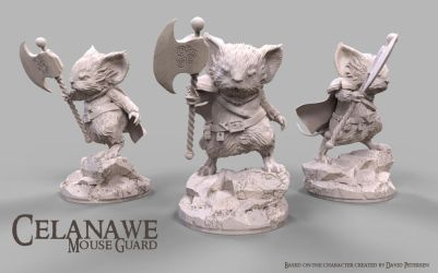 Mouse Guard: Celanawe by javi-ure