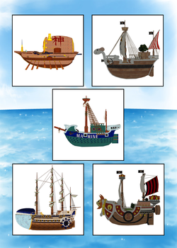 3D Models : One Piece by themadirishman