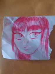 Receipt paper doodles by RodCaster