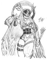 Angewomon by Marco2099