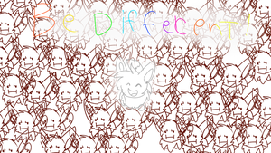 Be Different by alicesstudio