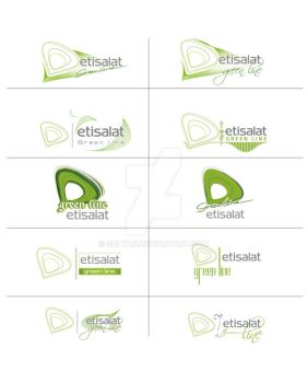 green line logos options by SOLTAN