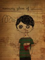 morning glass of _____ by theSmallprint