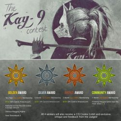 The KAY-9 Contest - Double Prizes! by CGCookie