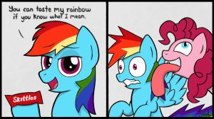 Taste the Rainbow by sheandog