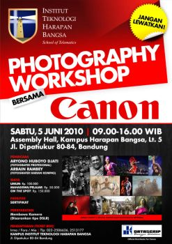 Photography Workshop - CANON by bayoukansil