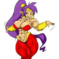 Half Genie Half Human By Devmgf Colored by Nokozeze
