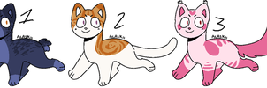 Cat adopts 2 OPEN REDUCED 1/3 by PointFreeadopts