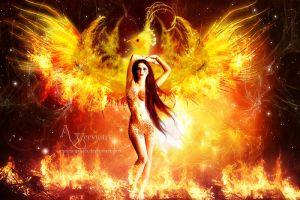 Phoenix Woman 2 by annemaria48