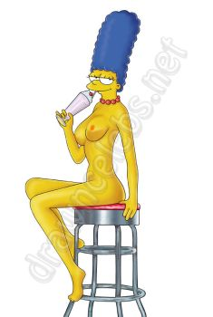 Marge Simpson Ice Cream by Mauromatamoros