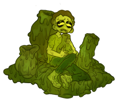 Toxic Morty with Speedpaint by przm