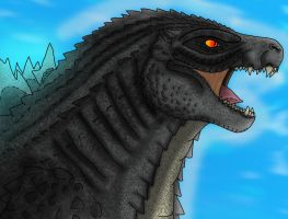 Godzilla ( New Generation ) !!! by kingspacegodzilla94