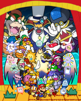 Paper Mario Tribute by BrokenTeapot