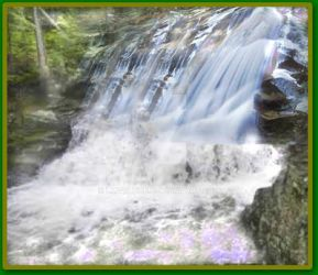 New Hampshire waterfalls 01 by lmtcloud