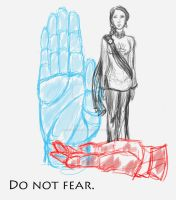 Do Not Fear: mudra by racerxmachina