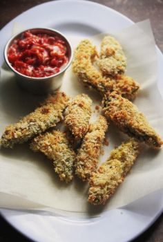 Baked Avocado Fries by sasQuat-ch