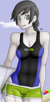 Wii Fit Trainer by LunaeZomi