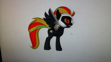 Night Shadow my first oc by megumbreon