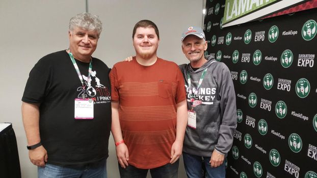 Meeting Rob Paulsen and Maurice LaMarche by Tyler3967