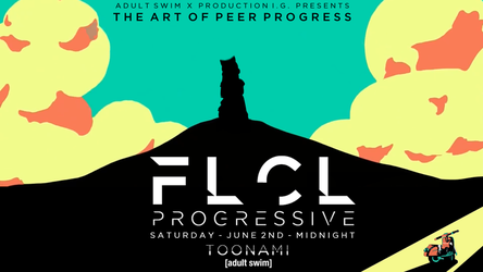 Toonami - FLCL Progressive Wallpaper #4 by JPReckless2444