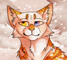 wintery wonderland |COMMISSION| by th1stlew1ng