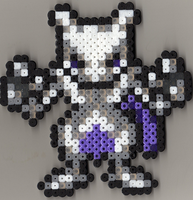Tiny Mewtwo is tiny by WereMorta