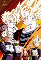 Supersaiyans byUzne by Uzne