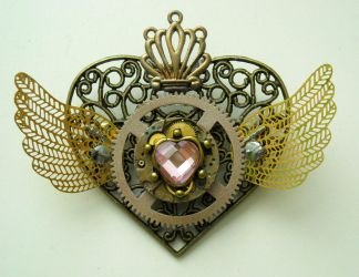 sailormoon steampunk locket 7 by TimelessCharm