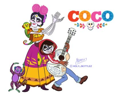 Coco and Frida by Nippy13