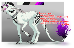 Hellhound Adopt Auction CLOSED by 3rdVulture