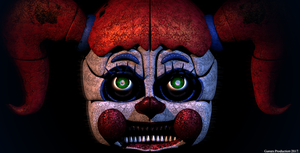 Nightmare Circus Baby WIP by GamesProduction