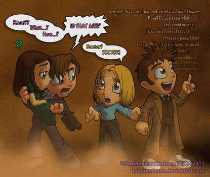 Doctor Who: 50th Anniversary Time Stream paradox? by LuLuLunaBuna