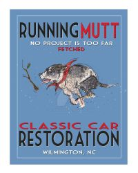 Running Mutt Classic Car Restoration by CrookedCrowStudio