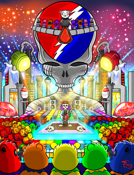 Grateful Dead by DinomanInc