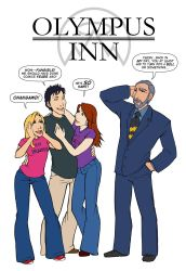 Olympus Inn 1 Cover by themightyfro
