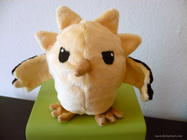 Disgruntled Baby Zapdos by naox