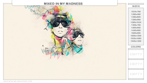 mixed in my madness by dannielle-lee