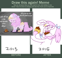 Draw this again meme by Milkii-Ways