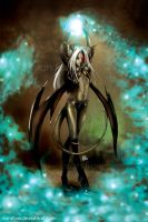 The Demon Girl by transfuse