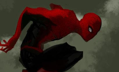 Spiderman by pungang