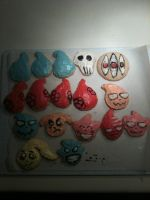 Soul Eater Cookies! (decorated) by Ninjawriter7