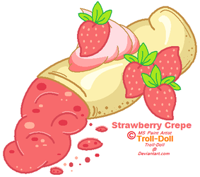 Strawberry Crepe by Troll-Doll