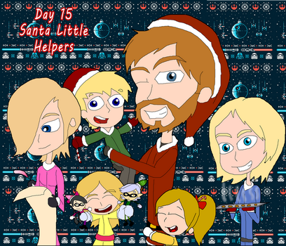 31 Days of Christmas:  Day 15 - Santa Helper by Mr-What-Zit-Tooya