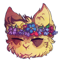 Flower Crown COLLAB by CharoPL