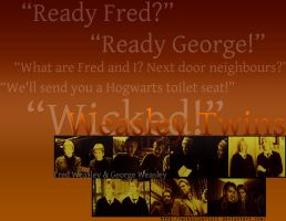 Fred and George Weasley by MIKEYCPARISII