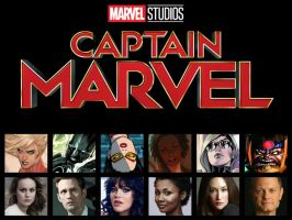 Captain Marvel Movie Cast Part 1 by Myths-of-Genesis
